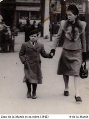 Jean de la Marck et sa mère Jeanne Franck