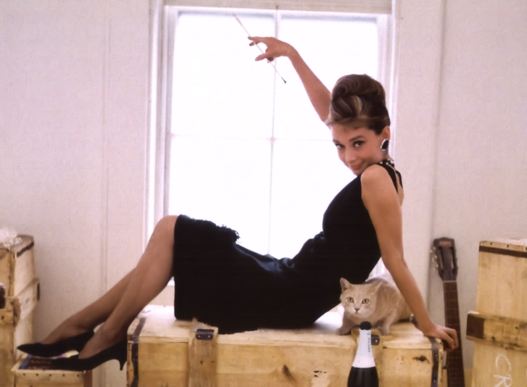 Sew Iconic - Audrey Hepburn in Breakfast at Tiffany's