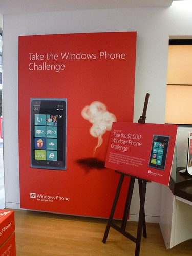 Smoked by Windows Phone at Microsoft Store in Westfield Valley Fair Mall, Santa Clara by textlad