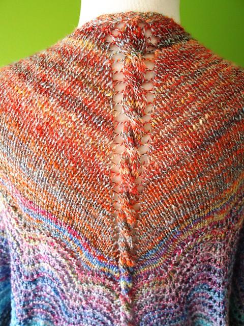 Rippit shawl