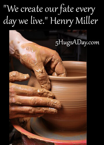 How We Create Fate via @deborahinfo | 5HugsADay.com