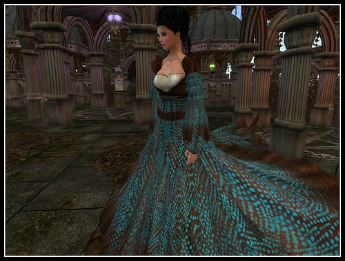 TWA Windswept Seas Gown by Cherokeeh Asteria
