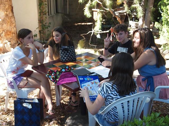 Friends in the garden 2 - JUne 24, 2012 - 04