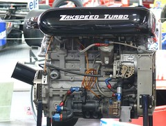 Zakspeed F1 1987 engine