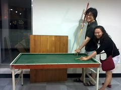table tennis(0.0), snooker(0.0), indoor games and sports(1.0), sports(1.0), billiard table(1.0), table(1.0), recreation room(1.0), cue sports(1.0),