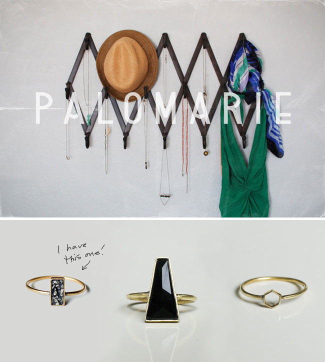 Palomarie jewelry rings