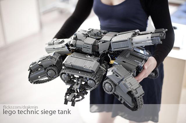 Siege Tank in hand