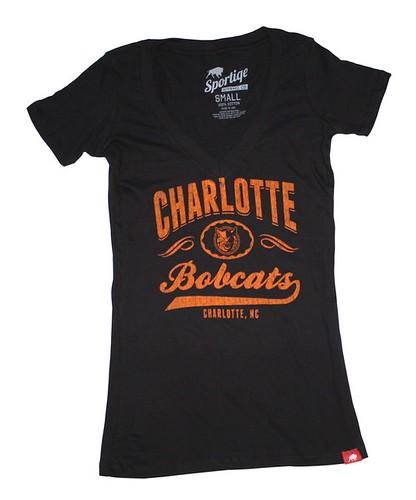 Charlotte Bobcats Sportiqe Tee