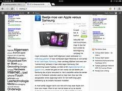 Google Chrome iPad