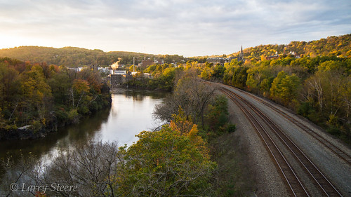 autumn water season littlefalls place things destination traintrack mohawkriver riverstream