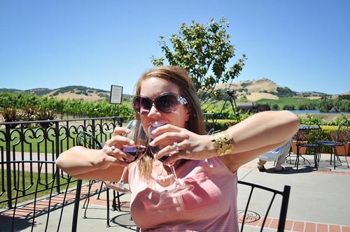 Michelle in Wine Heaven