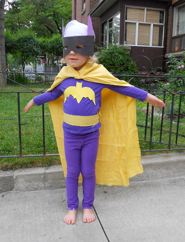 BATGIRL! thank you, Kona solids