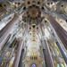 La Sagrada Familia - looking up