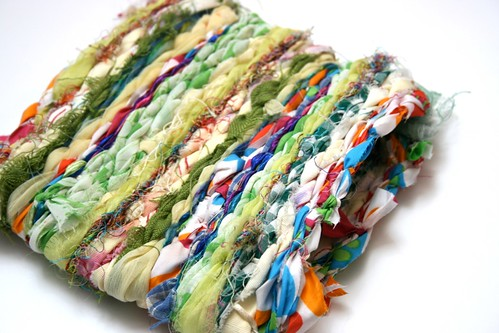 Make your own bag by recycling of textiles - old shirts