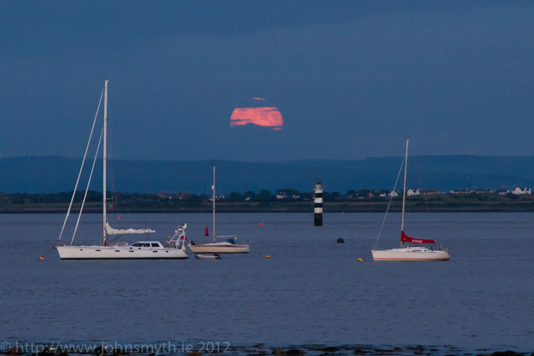 Moonrise over Galway Bay 1