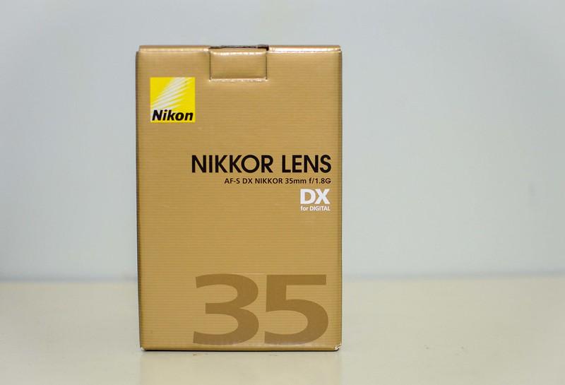 Review de objetivo Nikon 35mm f/1.8G