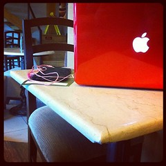6/31: chair. My usual spot during fridays. #photoadayjuly