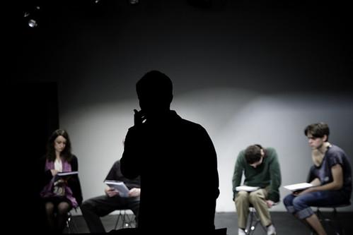 Meet the Hitlers, Josh Adler Directing Rehearsal, NYC