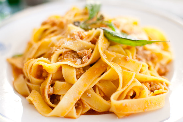 fettuccine bolognese | Flickr - Photo Sharing!