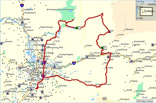 Our route July 2012