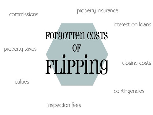 forgotten costs of flipping