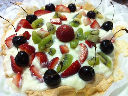Pavlova - Dessert Creation by Aisyah by Ghazali (Orang Malaya Di Yanbu, KSA)