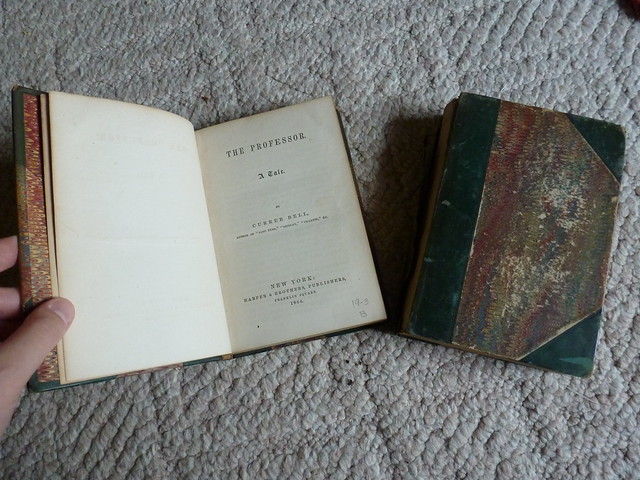 1864 Harper editions of Villette and The Professor