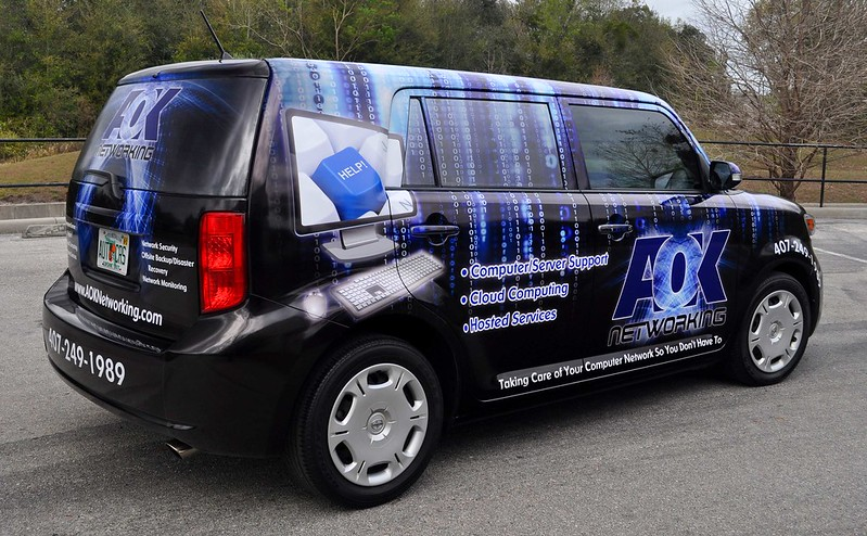 Scion vehicle wrap by TechnoSigns in Orlando