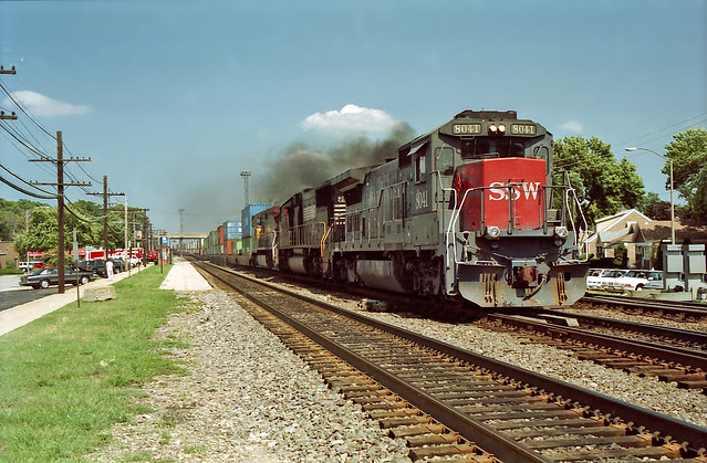 Westchester (IL) United States  city images : ... L542 CN Freeport Sub Former CRT ROW Westchester, IL by themats1