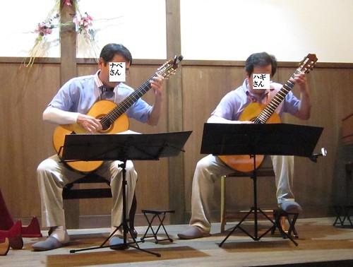 ナベさんハギさんの二重奏 2012年7月14日 by Poran111