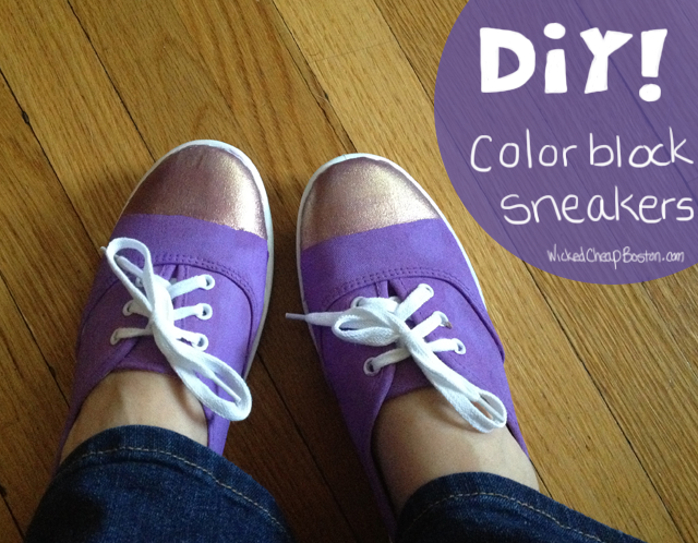 7585865754 26e1be2b59 o Making Stuff With Molly   Color Block Sneakers