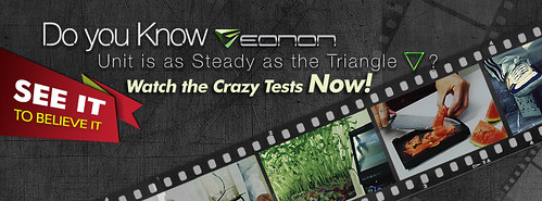 Watch the Crazy Tests to see how Steady Eonon Car DVD Player is! (7/19/2012)