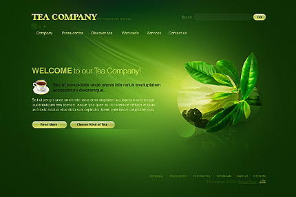 Flash site 26506 Tea company