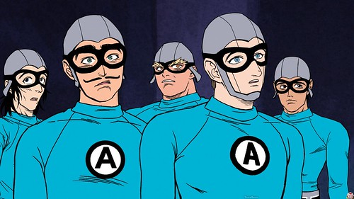 Aquabats Cartoon