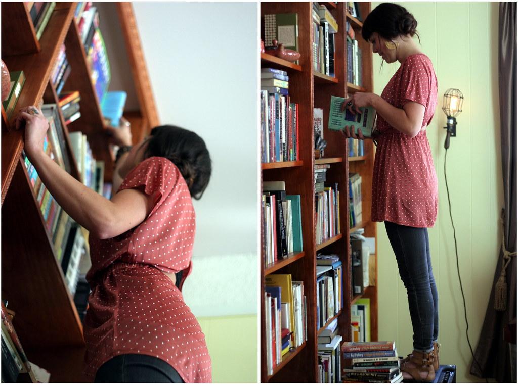 bradbury book shelf