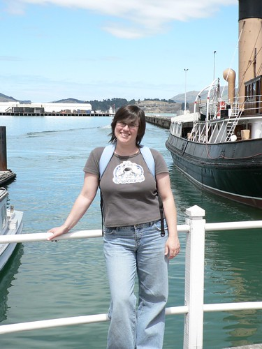 "Kathy and the steam tug ""Lyttleton"""