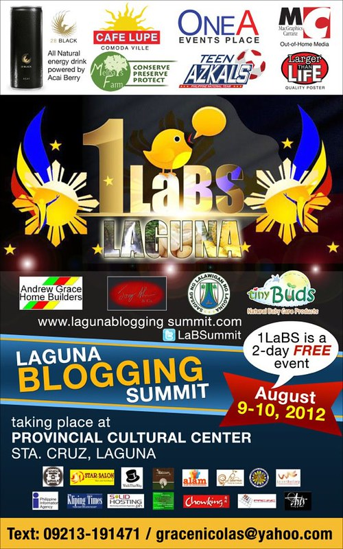 LAGUNA BLOGGING SUMMIT