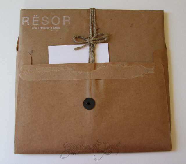 Resor Shop Custom Travel Notebook Opening