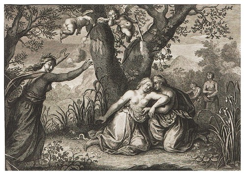015- La muerte de Euridice-Ovid's Metamorphoses In Latin And English V.2- Bernard Picart-© UniversitättBibliotheK Heidelberg