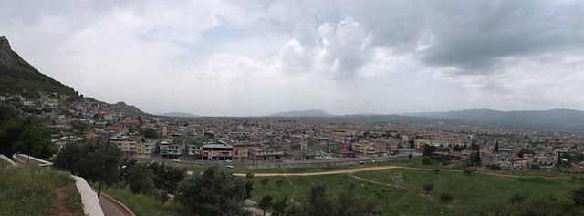 Ciudad de Antioquia vista desde la iglesia de San Pedro
