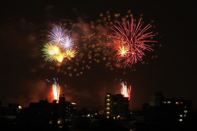 Firework Night at Shibamata