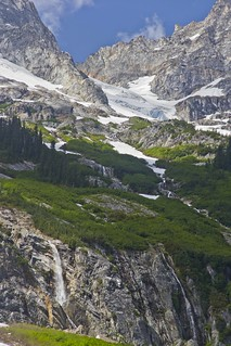 Memaloosa Ridge Waterfall, North Cascades National Park