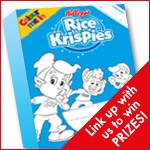 , Our entry into the Brit Mums Kelloggs Colour Me In Linky #ColourMeInRK