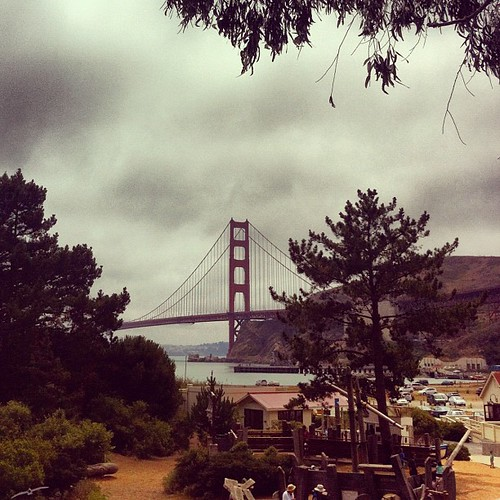 View from the Marin Discovery Museum
