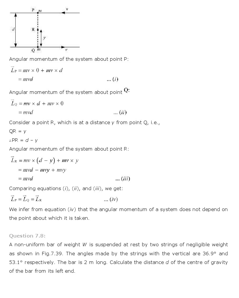 ncert solutions for class 11 physics chapter 7 system of particles rh schools aglasem com Describing Motion Study Guide Describing Motion Study Guide
