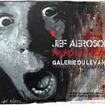 Jef Aérosol prend le maquis - Galerie du Levant -Porto Vecchio (Corse) - 2012