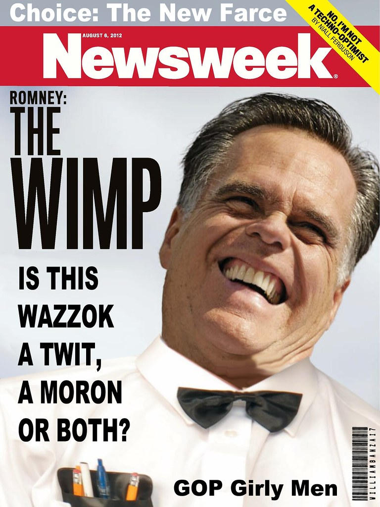 MITT THE TWIT NEWSWEEK COVER