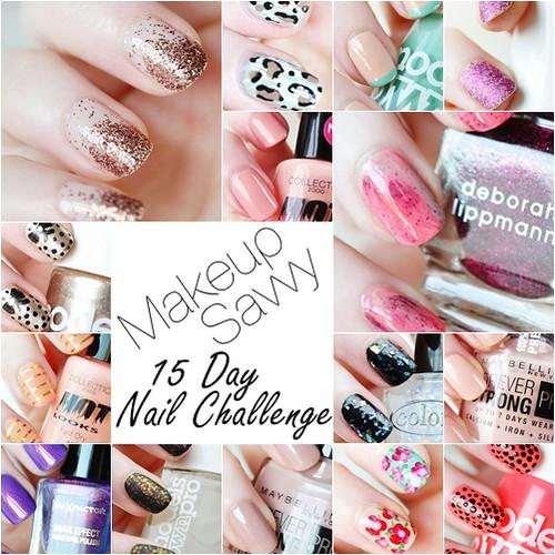 Makeup Savvy 15 Day Nail Challenge