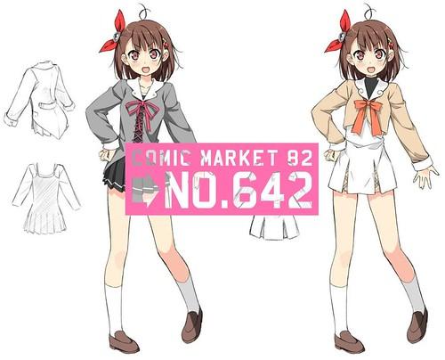 120804(2) - 動畫公司「SHAFT」嶄新魔法少女變身動畫《PRISM NANA PROJECT》邀請「カントク」設計主角造型! (1/9)