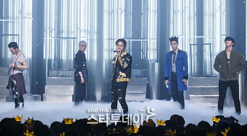 Big Bang - Mnet M!Countdown - 07may2015 - Star MK - 01